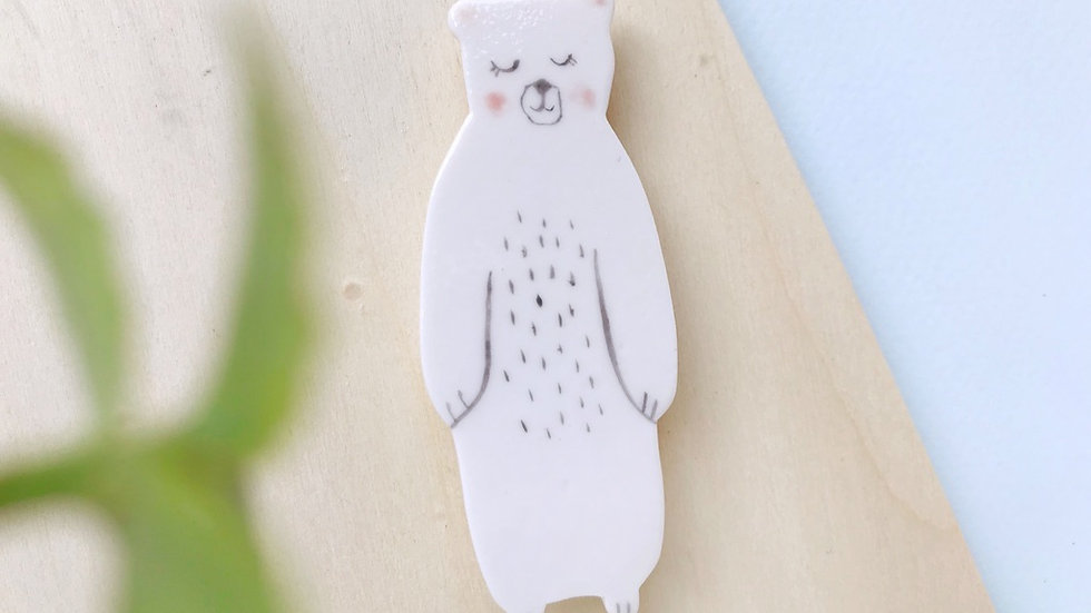 The Bear Brooch