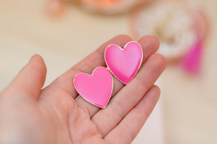 Enamel Heart