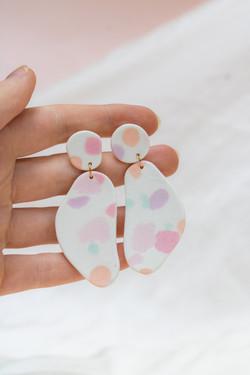 Playful earrings