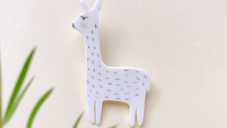 The Alpaca Brooch