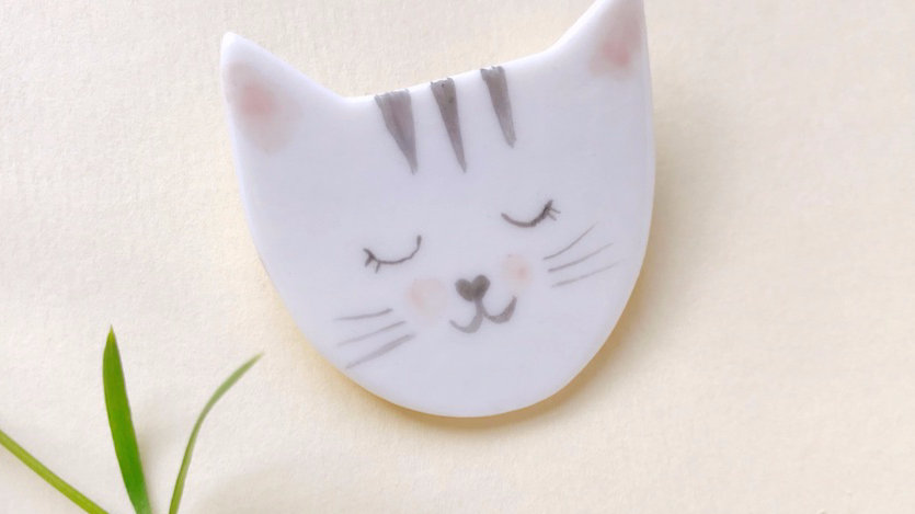 The Kitty Brooch