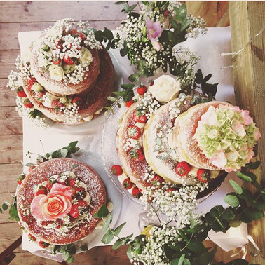 Oona's Cakes Cornwall Wedding Cakes