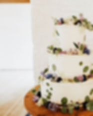 Icing my wedding cake was the last job o