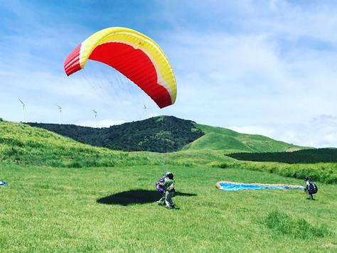 絶景と遊んだ最高の夏!パラグライダー体験で伊豆の空・海・山を満喫!【夏合宿レポートその2】