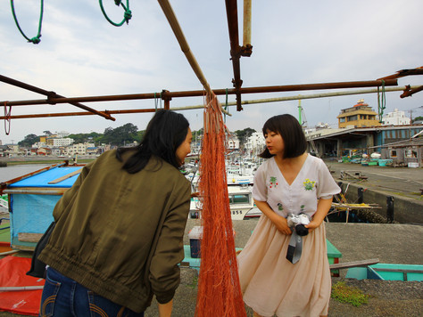 【特集/カメラ女子旅】「海を締めくくるは稲取漁港!!編」