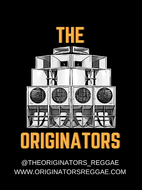The Originators Sound System Sticker