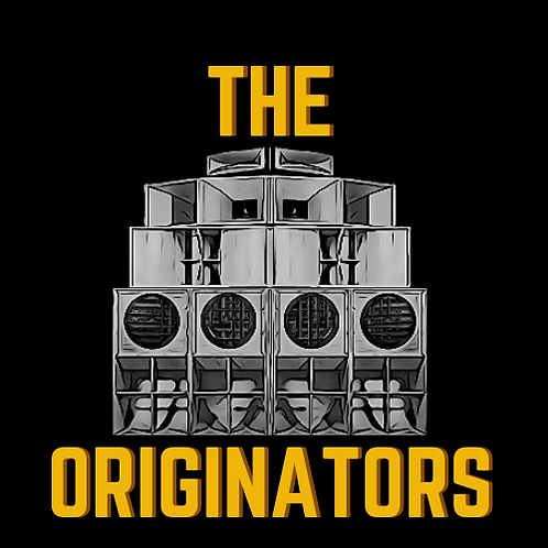 Black The Originators T Shirt