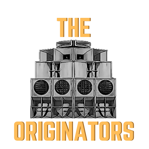 White Originators Reggae Music T Shirt