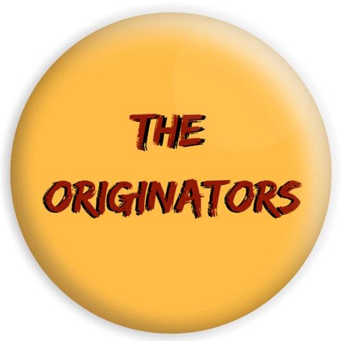 Small The Originators Button