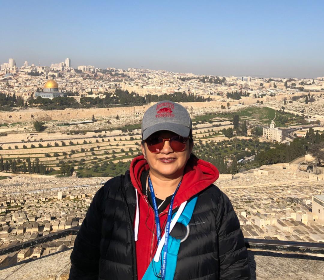 Rowena in Israel