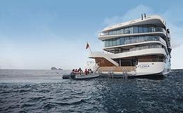 Celebrity Flora luxury Galapagos cruise ship