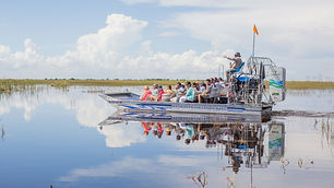 The best way to enjoy the beauty of Florida's Everglades is by airboat, make a day of it!