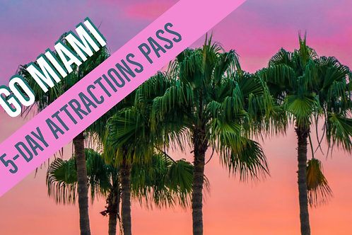 Go Miami Card 5-Day Attractions Pass