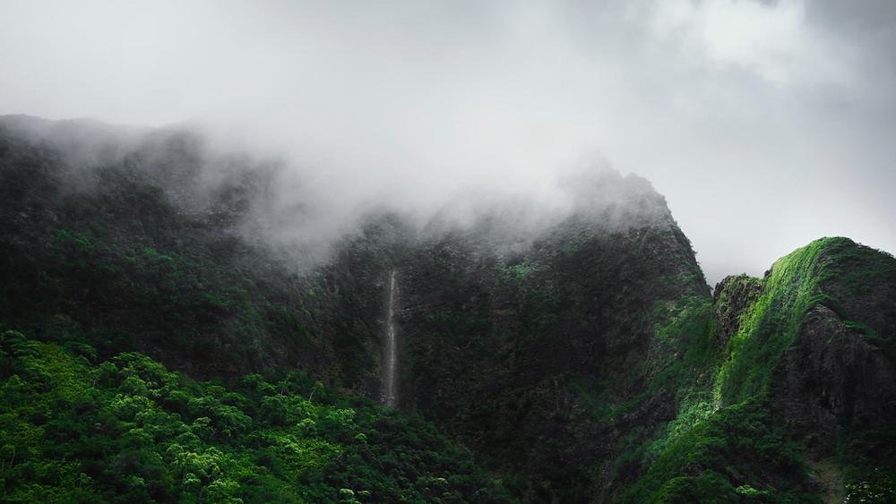 Waterfalls of Hawaii's Iao Valley