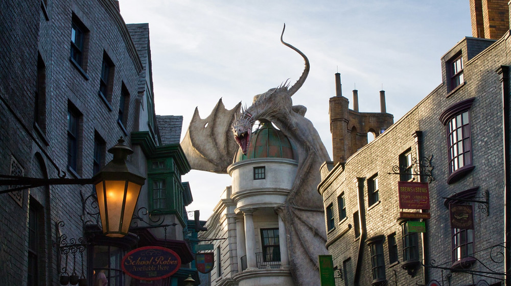 Harry Potter's Diagon Alley at Universal Studios