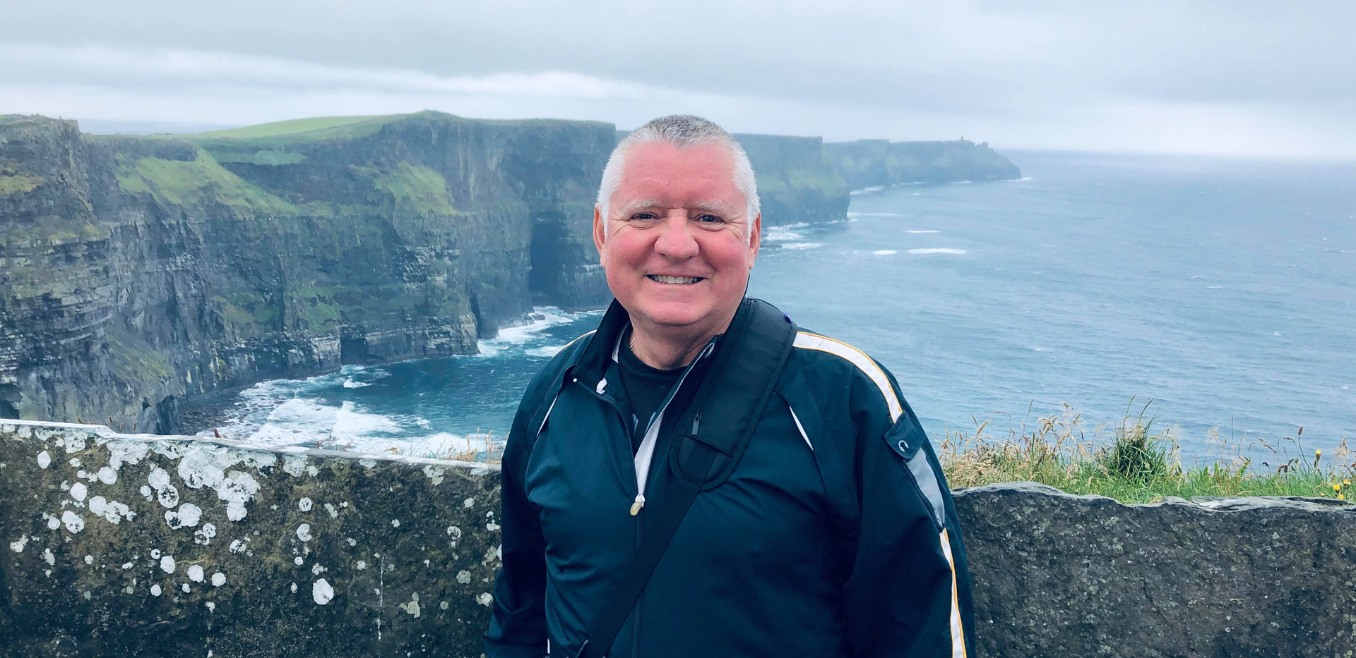 Gene at the Cliffs of Moher, Ireland