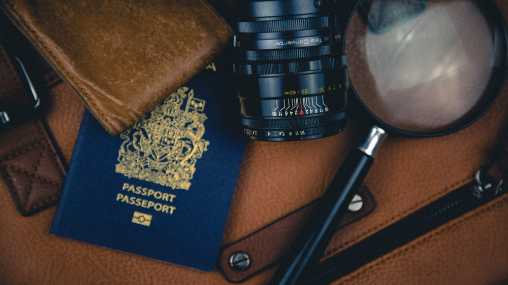 Passport and other must have items for an adventure