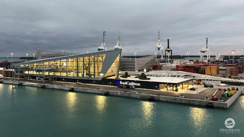 The new Royal Caribbean Terminal at Port of Miami