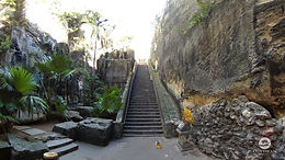 Queen's Staircase, also known as the 66 Steps