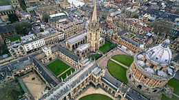 Oxford in England