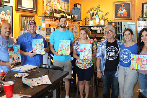 Paint with the Artist Private Small Group (up to 6)