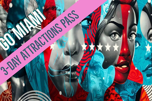 Go Miami Card 3-Day Attractions Pass