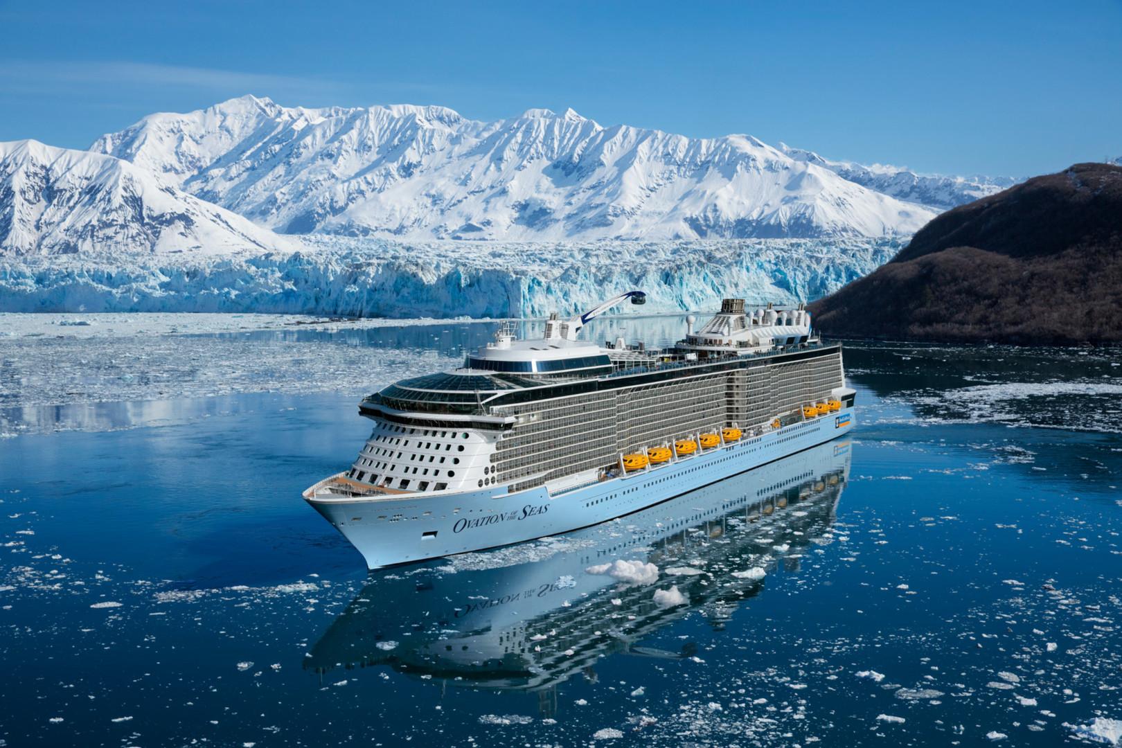 Ovation of the Seas in Alaska