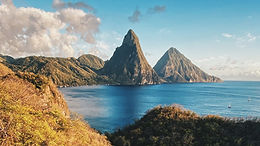 The Pitons of Saint Lucia