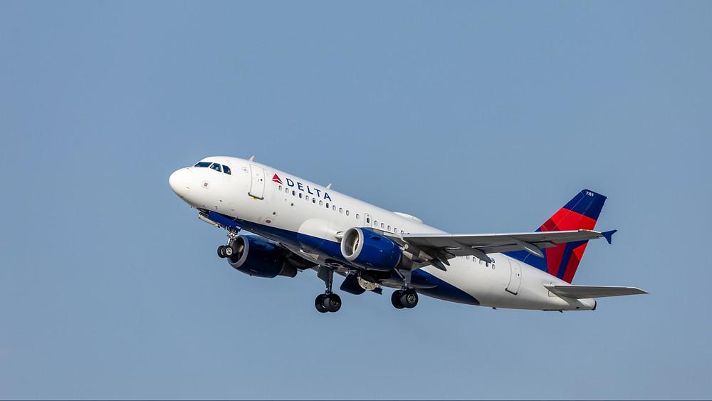 Delta Airways flight to Honolulu