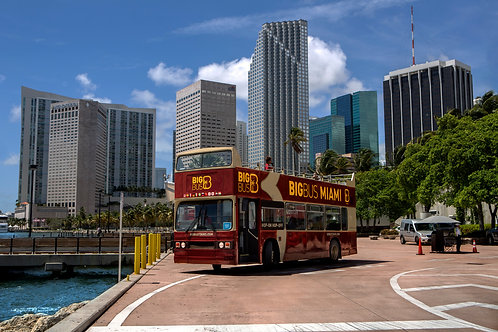 Big Bus Tours Miami Premium Ticket
