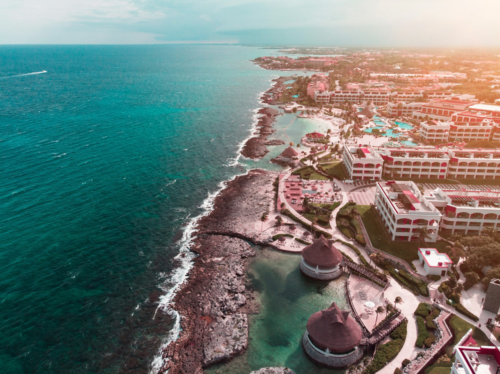 Luxury resorts in the Riviera Maya, Mexico
