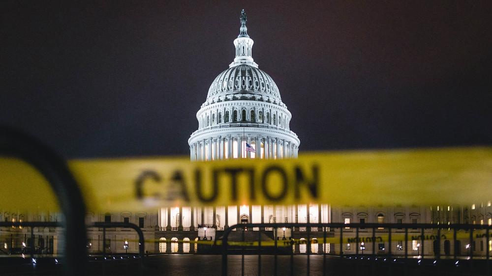 US Government Shutdown picture Washington DC