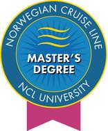 Norwegian Cruise Line Master Degree NCL