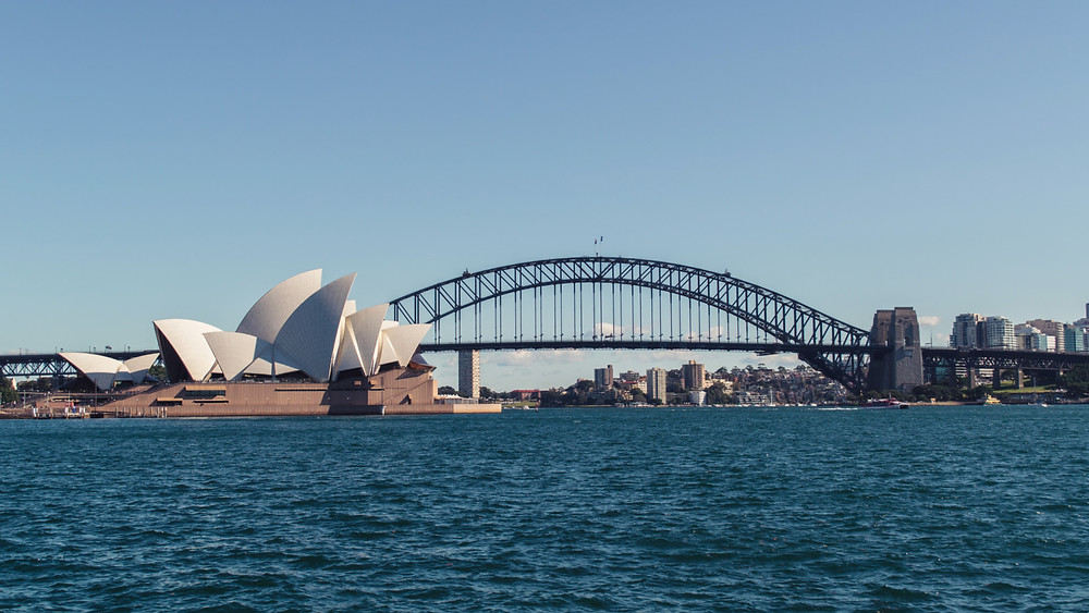 Sydney's Opera House before the Sydney Harbour Bridge