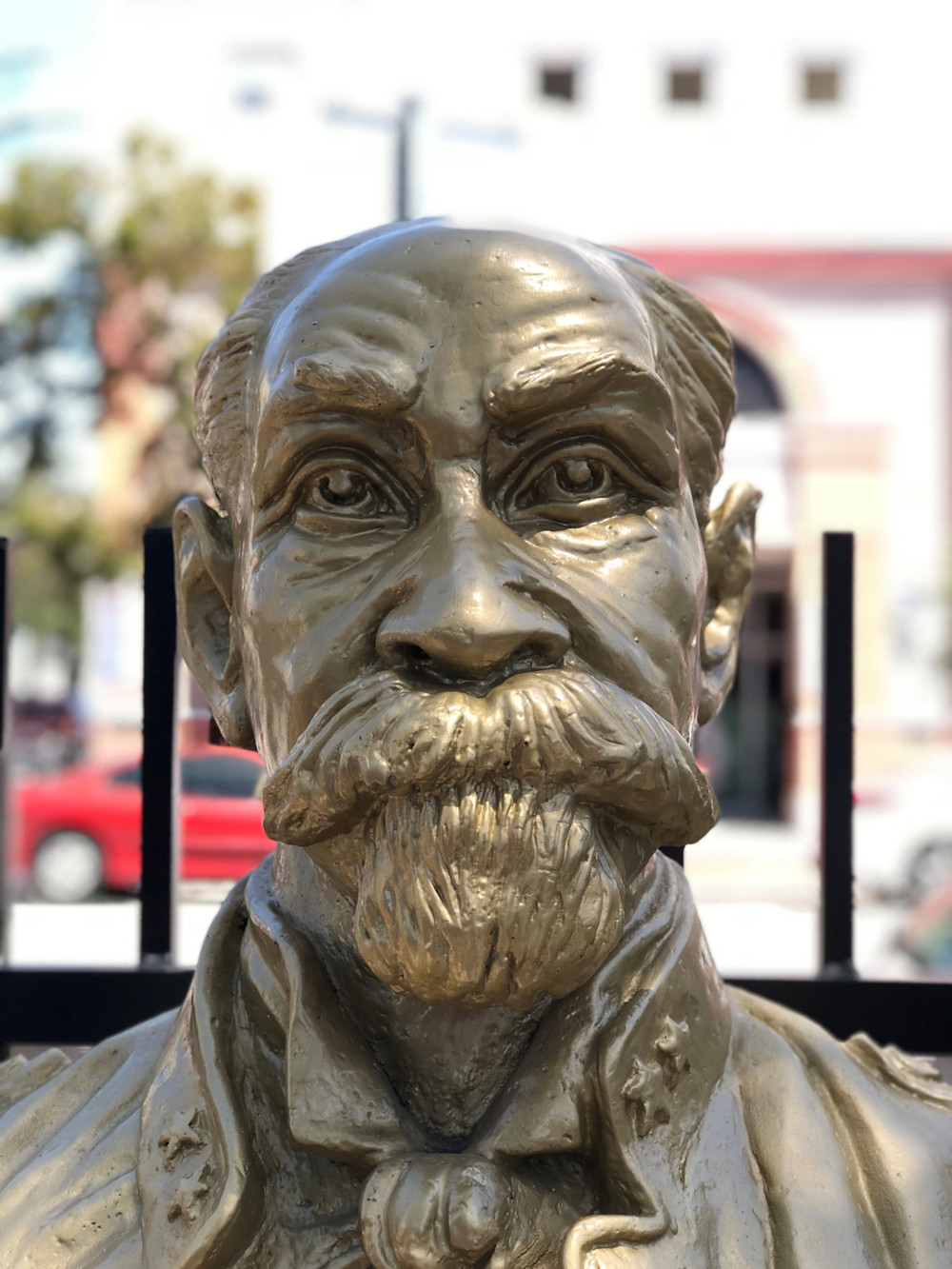 Bust of Generalissimo Maximo Gomez in Little Havana