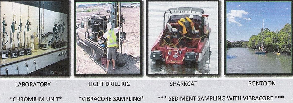 geotechnical investigation drilling acid sulphate environmental soil testing