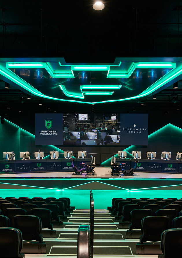 FORTRESS ESPORTS FITOUT