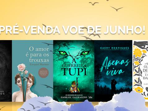 Pré-venda de junho da Voe traz livros que vão do terror ao romance