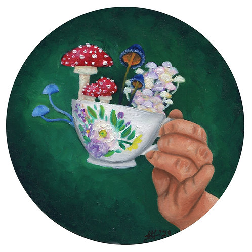 """Cup of Magic"" Print"