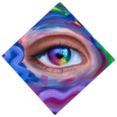 """Rainbow Vision"" Print"