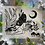"""Thumbnail: """"Lunar Lady"""" Linocut Print"""