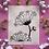 "Thumbnail: ""Bloom"" Linocut Print"