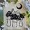 "Thumbnail: ""Fungi Forest"" Linocut Print"