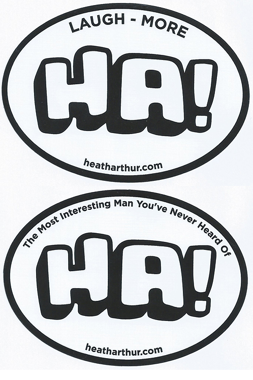 HA! Sticker Bundle