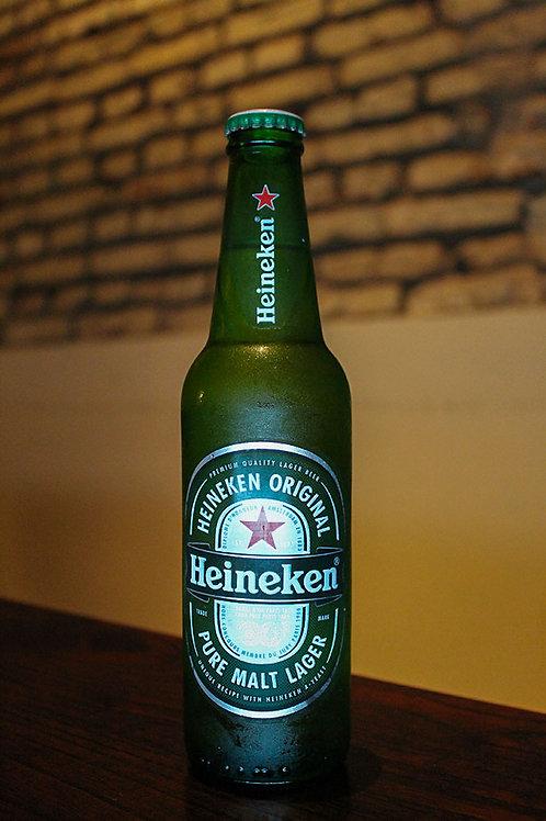 Cerveza Heineken porrón