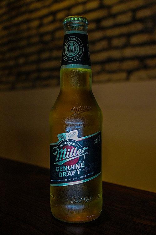 Cerveza Miller porrón