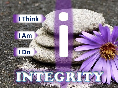 INTEGRITY with WHO I AM