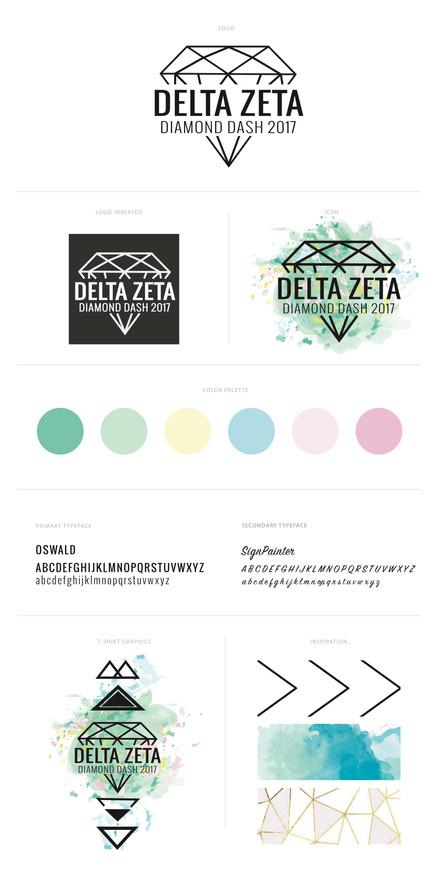 Diamond Dash Brand Board