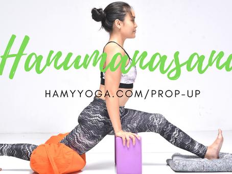 Tư thế Thần Khỉ Hanuman - Xoạc Dọc an toàn trong Yoga