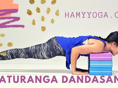 Chào Mặt Trời: Chaturanga Dandasana - một tư thế KHÓ